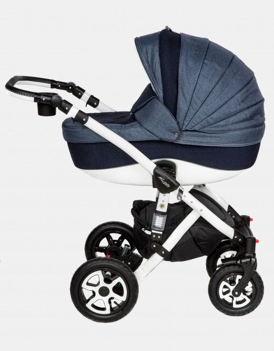 Adamex Barletta dunkelblau PIK4 3in1 mit Autositz