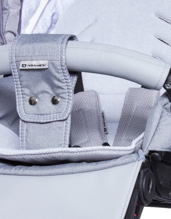Adamex Barletta grau 88L 3in1 mit Autositz