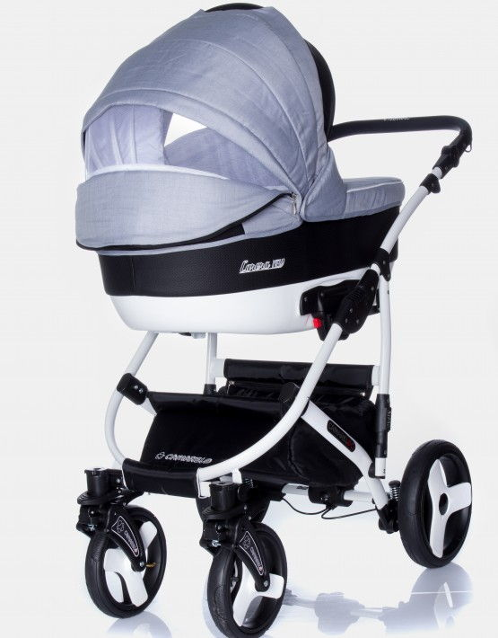 Camarelo Carera New schwarz - anthrazit CAN-2 3in1 mit Autositz