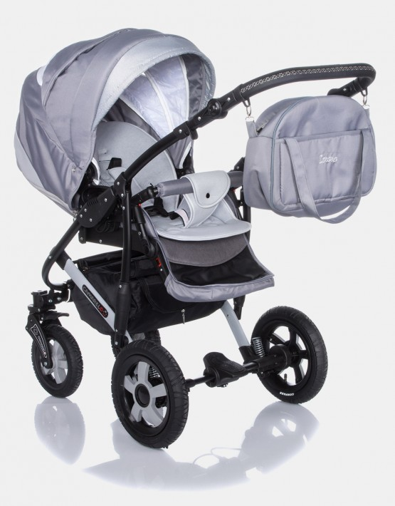 Camarelo Carera XCA-2 hellgrau 3in1 mit Autositz