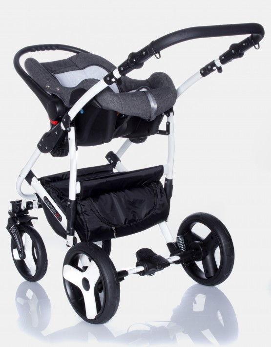 Camarelo Carera New schwarz - grau CAN-3 3in1 mit Autositz