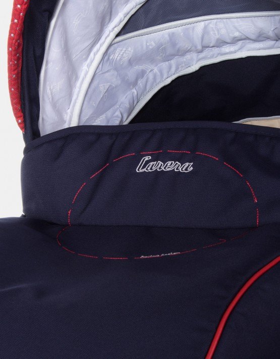 Camarelo Carera XCA-1 dunkelblau - rot 2in1