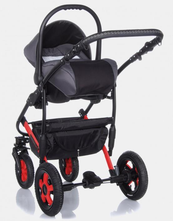 Camarelo Carera XCA-1 dunkelblau - rot 3in1 mit Autositz