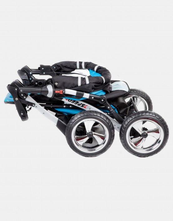 FunBaby Speed türkis - schwarz 3in1 mit Autositz