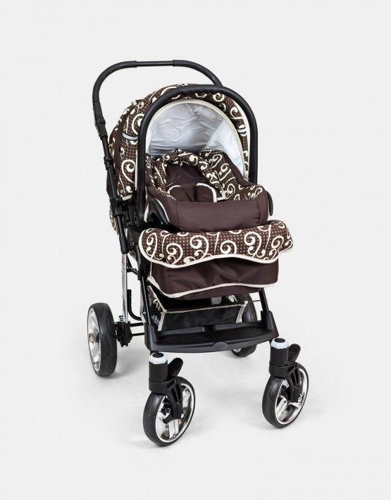 Karex X2 braun 3in1 mit Autositz