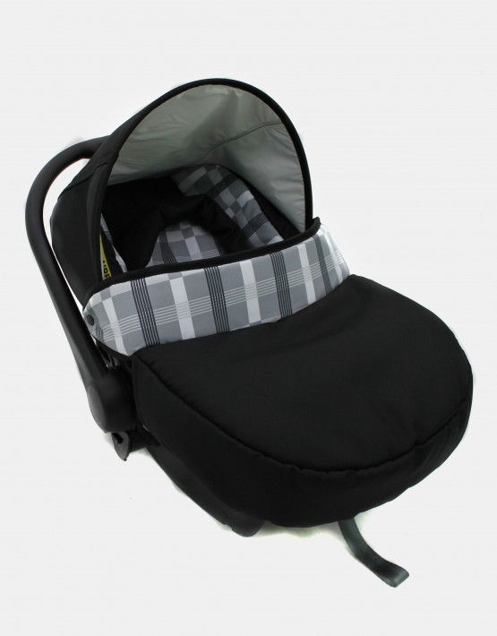 Karex Pascal schwarz - grau 3in1 mit Autositz