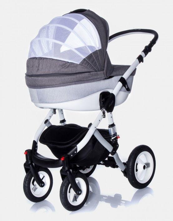 Adamex Barletta Rainbow hellgrau 3in1 mit Autositz