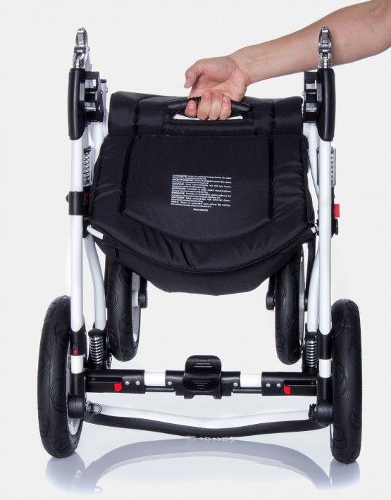 Adamex Aspena grau 98L 3in1 mit Autositz