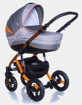 Adamex Aspena Grand Prix GP-2 Orange-Schwarz 2in1