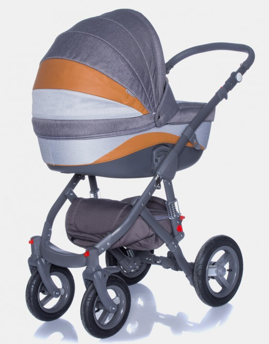 Adamex Barletta New B1 Orange-Grau 2in1