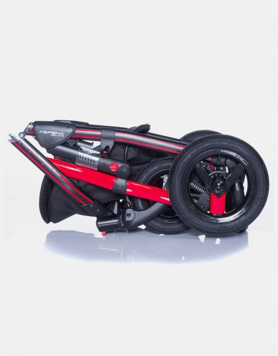 Adamex Aspena Grand Prix GP-1 Rot-Schwarz 3in1
