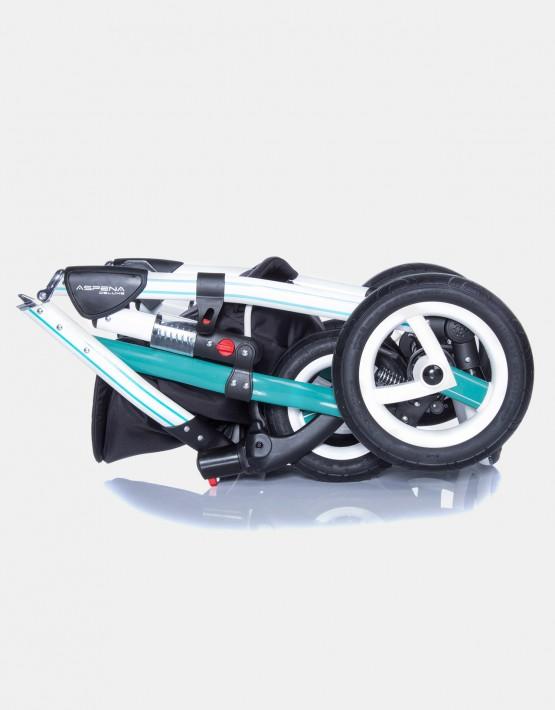 Adamex Aspena Grand Prix GP-6 Mint-Weiß 3in1