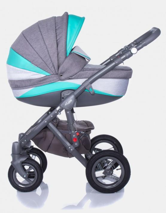 Adamex Barletta New B2 Grau-Mint 3in1