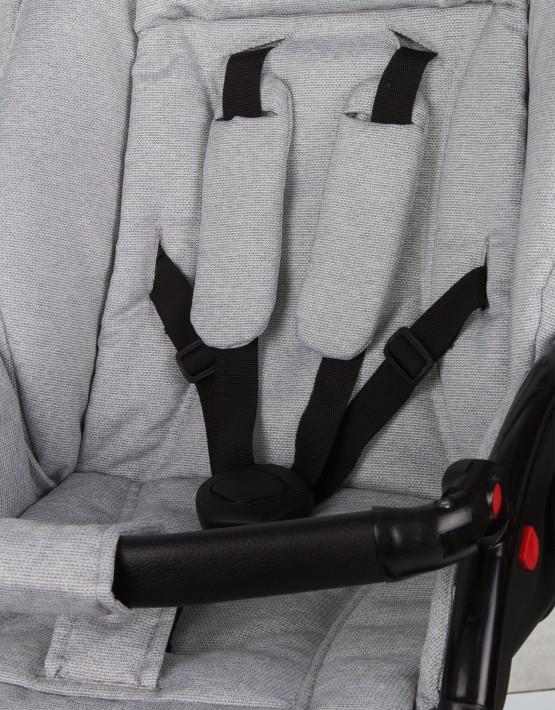 Jedo Koda Gel 18 hell grau - blau 3in1 mit Autositz