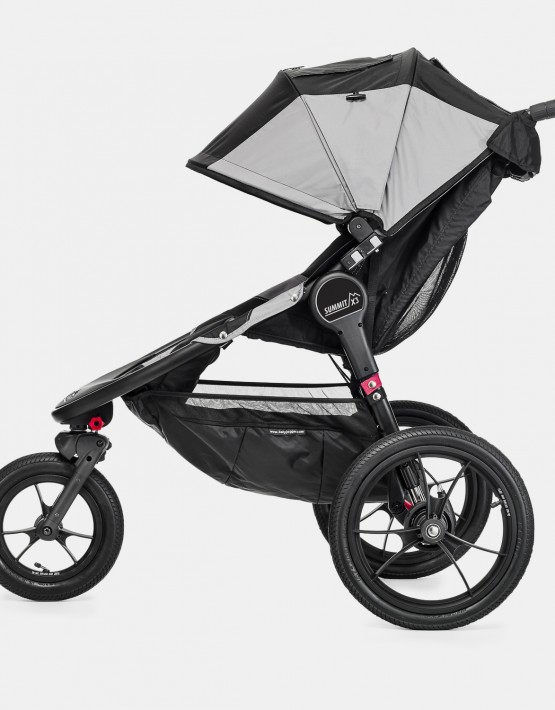 Baby Jogger Summit X3 Black-Gray