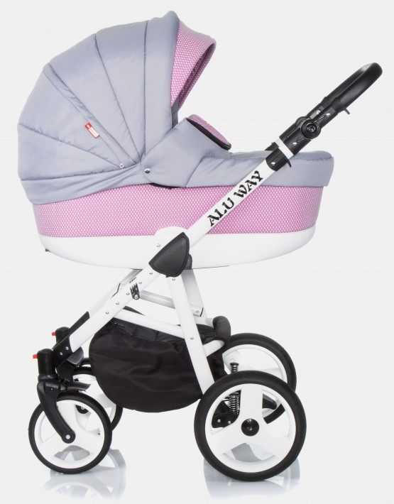 Raf-Pol Alu Way Light Pink 3in1