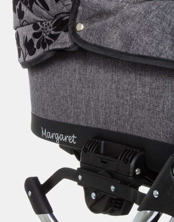Raf-Pol Margaret Floral Dark Grey 2in1