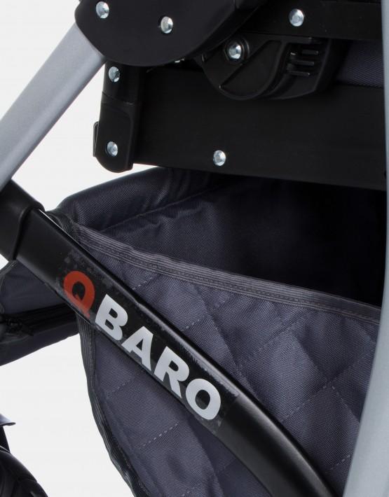 Raf-Pol Qbaro Dark Grey 2IN1