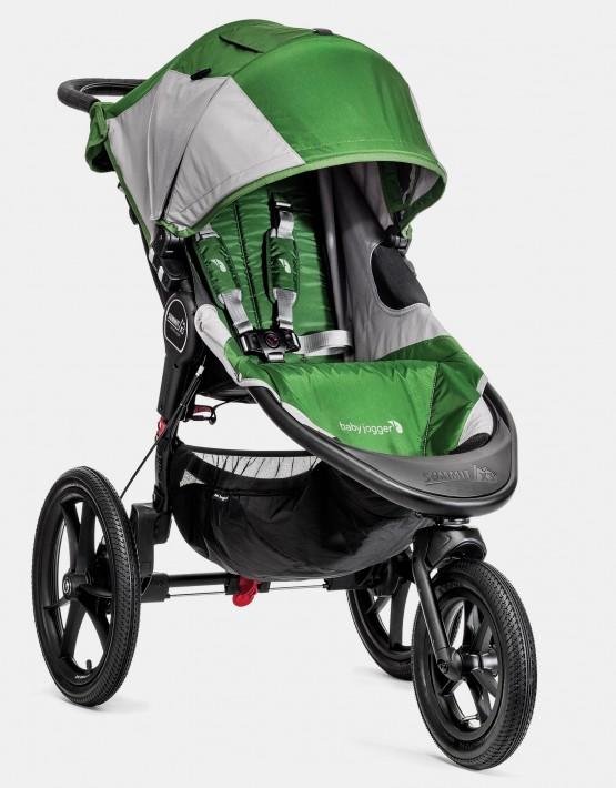 Baby Jogger Summit X3 Green Gray