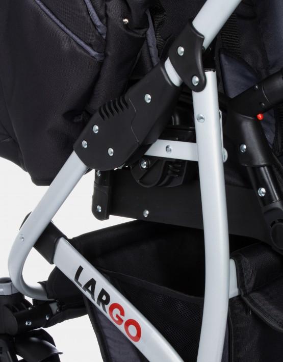 Raf-Pol Largo Dark Grey 2IN1