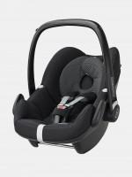 maxicosi carseat babycarseat pebble 2017 black blackraven 3qrt