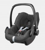 maxicosi carseat babycarseat pebble 2017 black triangleblack 3qr