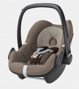 maxicosi carseat babycarseat pebble 2017 brown earthbrown 3qrt