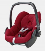 maxicosi carseat babycarseat pebble 2017 red robinred 3qrt