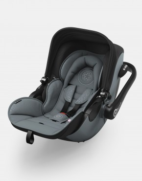 Kiddy Evoluna i-size Steel Grey