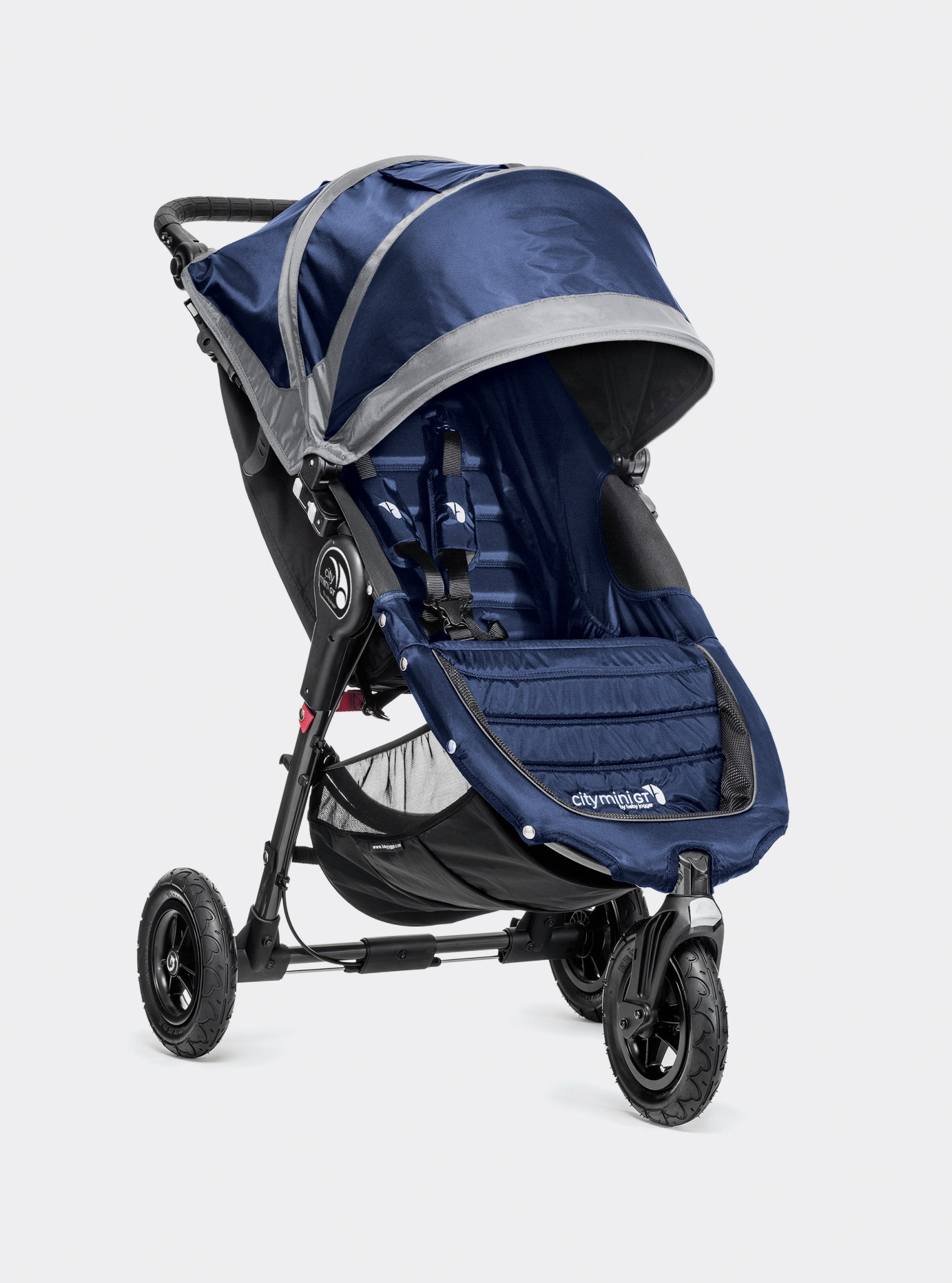 Baby Jogger City Mini Gt Cobalt Gray Kinderwagencenter De