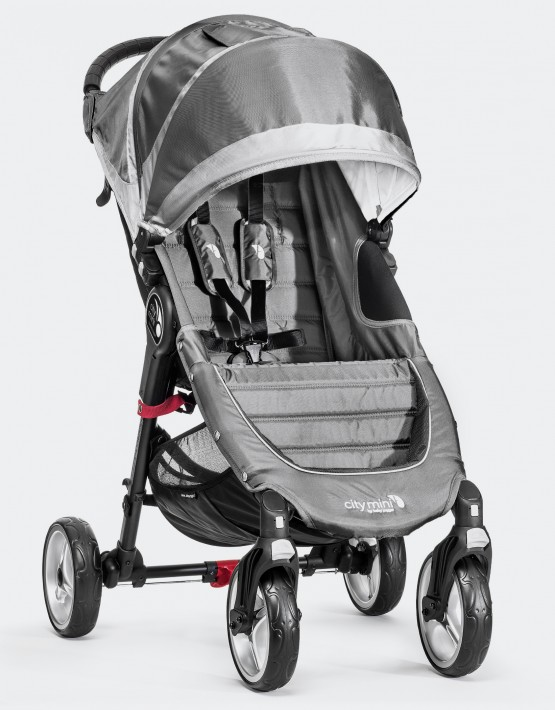 Baby Jogger City Mini 4W Steel Gray