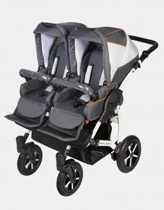 Dorjan Danny Sport Twin 2IN1 Weiß-Graphit DS5-T17
