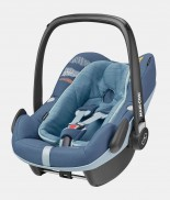 maxicosi carseat babycarseat pebbleplus   blue FrequencyBlue 3qr