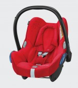 maxicosi carseat babycarseat cabriofix 2018  red vividred 3qrt