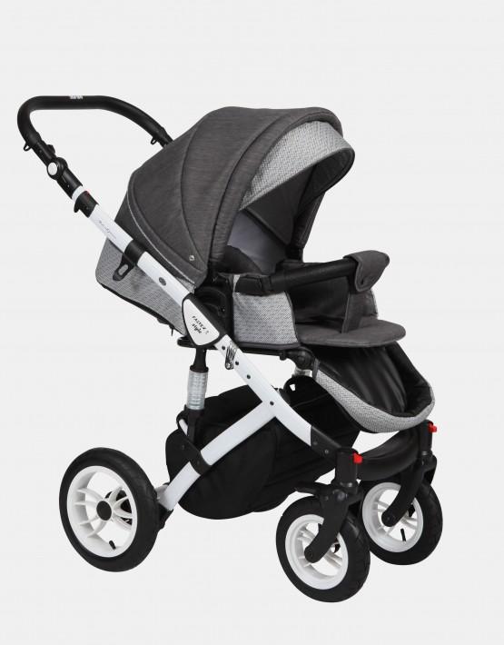 Baby Merc Faster Style2 3in1 FII-17 Graphit - Weiß Schwarz Mozaik