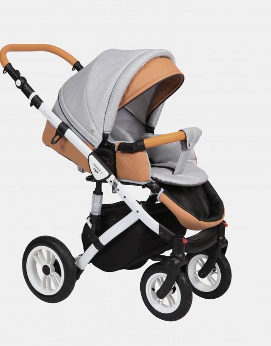 Baby Merc Faster Style2 2in1 FII-19 Hellgrau - Ekoleder Bronze