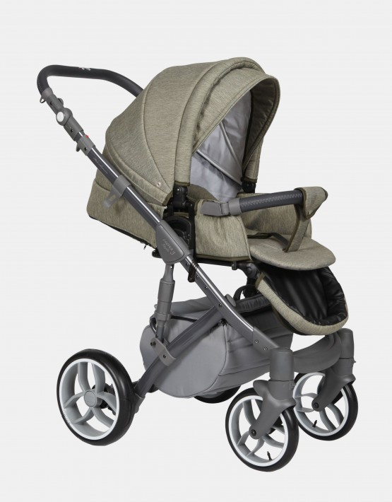 Baby Merc Faster Style3 3in1 FIII-93 Grau Oliven