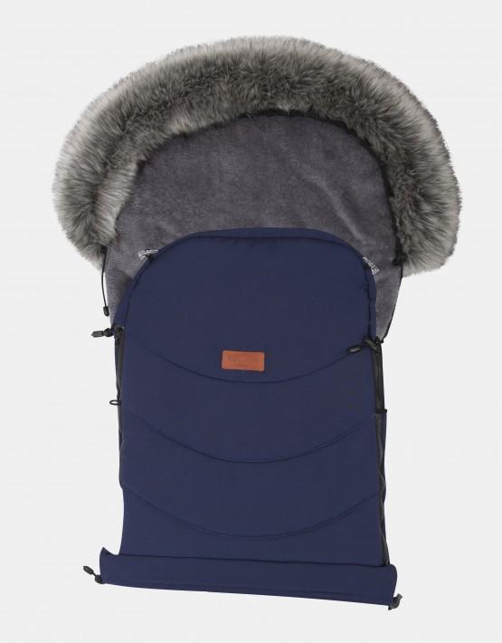 Baby Merc Schlafsack Winterfußsack Blau NS-1