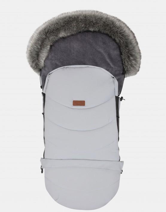 Baby Merc Schlafsack Winterfußsack Hellgrau NS-3