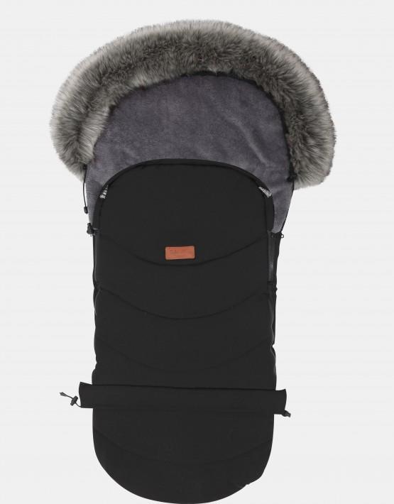 Baby Merc Schlafsack Winterfußsack Schwarz NS-4