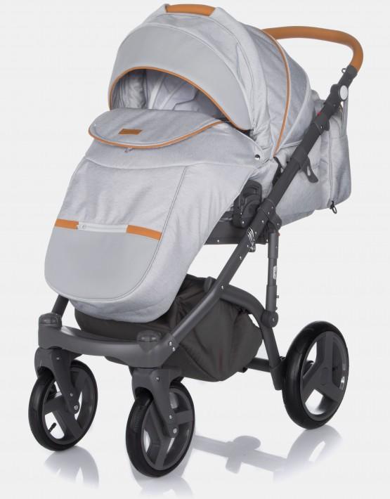 Adamex Massimo V1 Bright Grey & Caramel 2in1