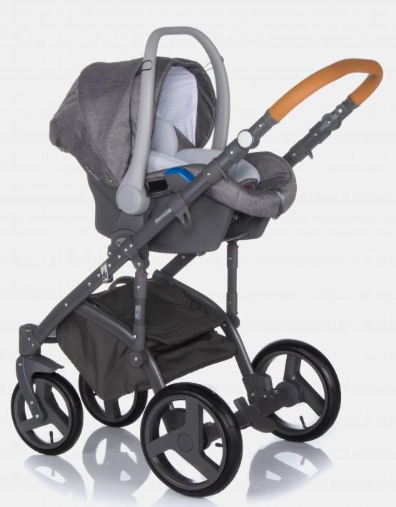 Adamex Massimo V1 Bright Grey & Caramel 3in1