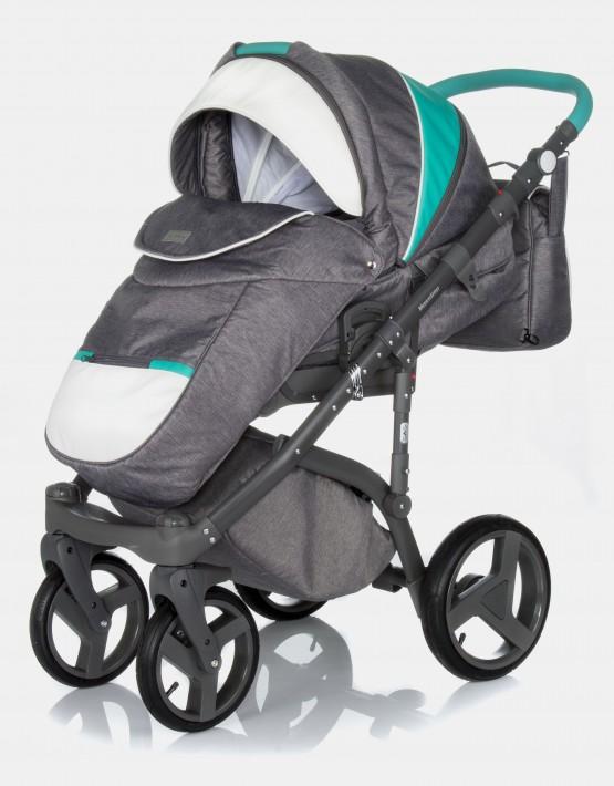 Adamex Massimo V104 Graphite Blue 2in1
