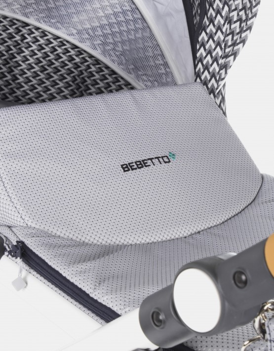 Bebetto Bresso 01 Pepita Weiß 2in1
