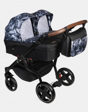 Dorjan Quick Twin TQ12 Schwarz-Muster  2in1