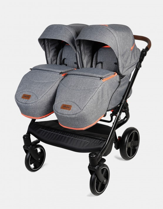 Dorjan Quick Twin TQ08 Anthrazit-Orange 2in1