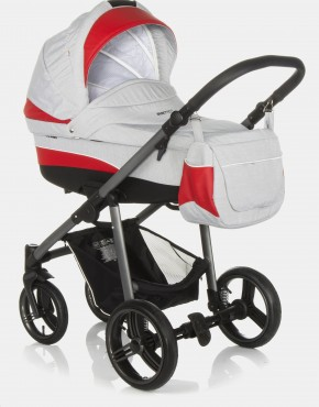 Bebetto Vulcano S-line SL03G Grey - Red 2in1