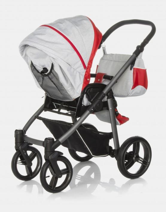 Bebetto Vulcano S-line SL03G Grey - Red 2in1
