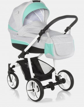 Bebetto Vulcano S-line SL01W Grey - Green 3in1