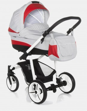 Bebetto Vulcano S-line SL03W Grey - Red 2in1
